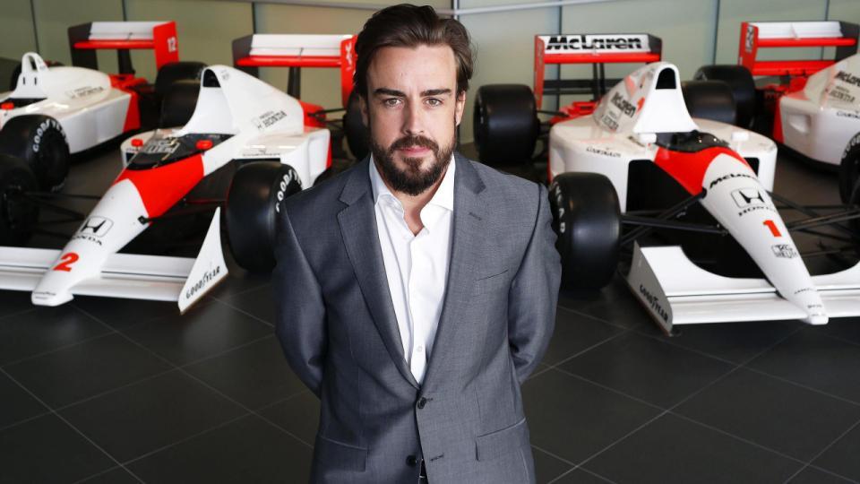 Alonso piloto McLaren 2015