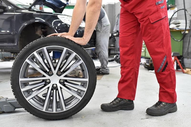 cambiar neumáticos SPG Talleres
